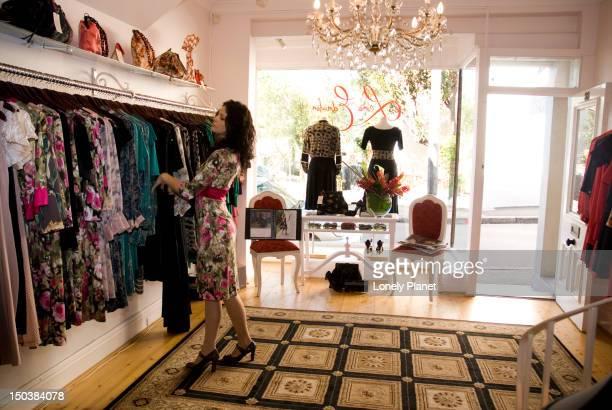 Women's fashion store interior, Paddington.