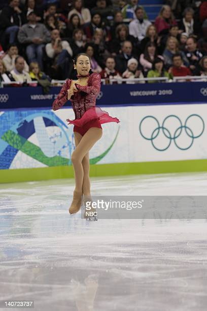 GAMES Women's Figure Skating Short Program Pictured Japan's Mao Asada performs her short program during the women's figure skating competition at the...