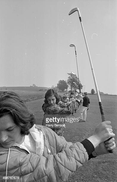 A women's golf lesson May 27th 1964
