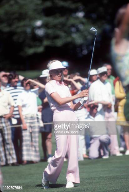 Women's golfer Laura Baugh in action during tournament play circa 1976 Baugh was on the LPGA Tour from 19732001