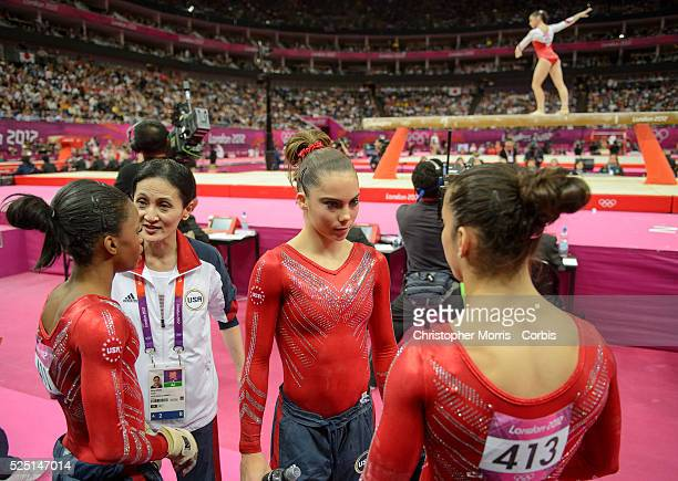 Women's Gymnastics Team Finals Day 4 during the 2012 London Olympic Games