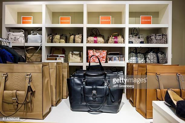 Women's handbags clearance in Vero Beach Outlets.