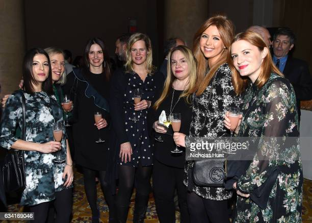 Women's Health Magazin group attends Ellie Awards 2017 at Cipriani Wall Street on February 7 2017 in New York City