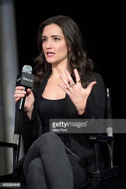 Women's Health Magazine Fitness Director Jen Ator attends the AOL Build Speaker Series to discuss better eating habits and health and wellness at AOL...