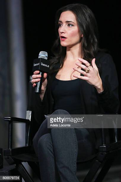 Women's Heatlh Magazine Fitness Director Jen Ator discusses better eating habits and health as part of AOL Build Speaker Series at AOL Studios In New...