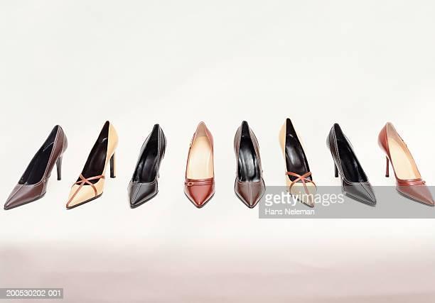 Women's high heeled shoes
