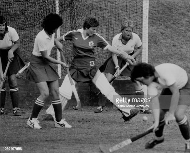Women's Hockey St George versus YWCA September 18 1982