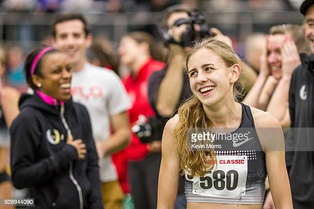 Womens Invitational Mile at BU Terrier Indoor Track