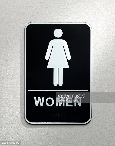 Women's lavatory sign