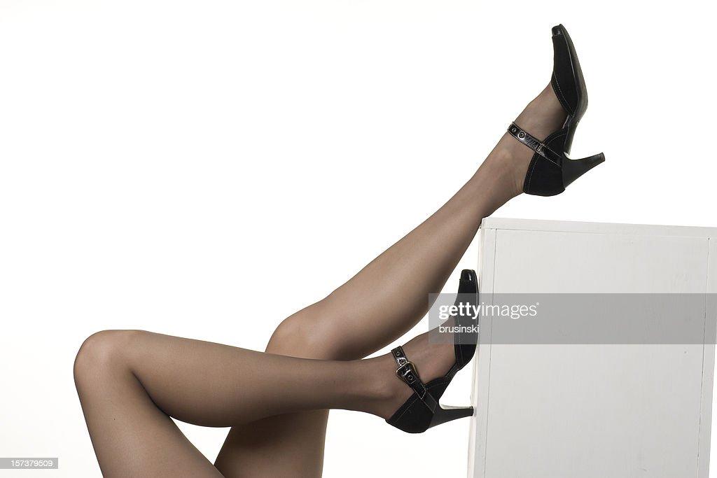 women's legs : Stock Photo