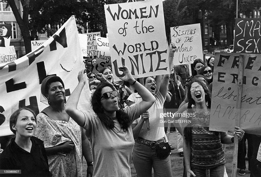 Women'S Liberation Movement In Washington, United States On August 26, 1970 - : News Photo