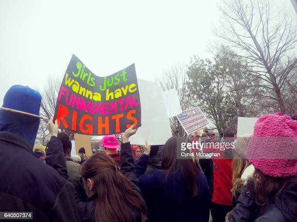 women's march on washington - abortion stock pictures, royalty-free photos & images