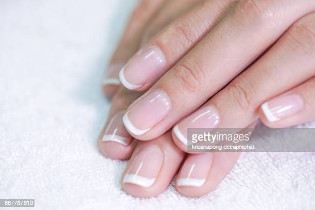 women's nails - manicure stock pictures, royalty-free photos & images