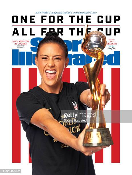 US Women's national soccer player Ali Krieger is photographed for Sports Illustrated on July 10 2019 in New York City COVER IMAGE CREDIT MUST READ...