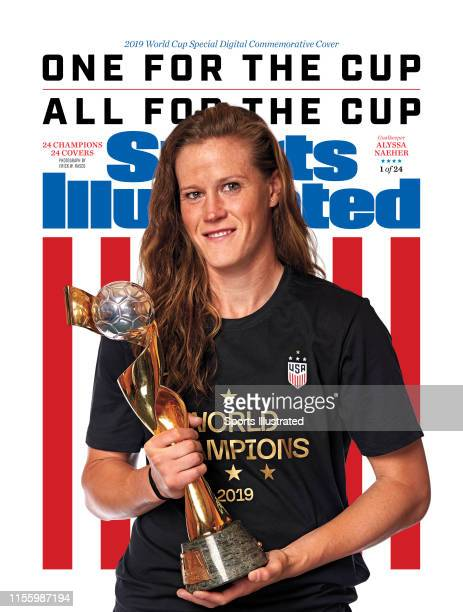 US Women's national soccer player Alyssa Naeher is photographed for Sports Illustrated on July 10 2019 in New York City COVER IMAGE CREDIT MUST READ...