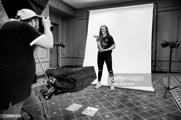 US Women's national soccer player Alyssa Naeher is photographed for Sports Illustrated on July 10 2019 in New York City CREDIT MUST READ Taylor...
