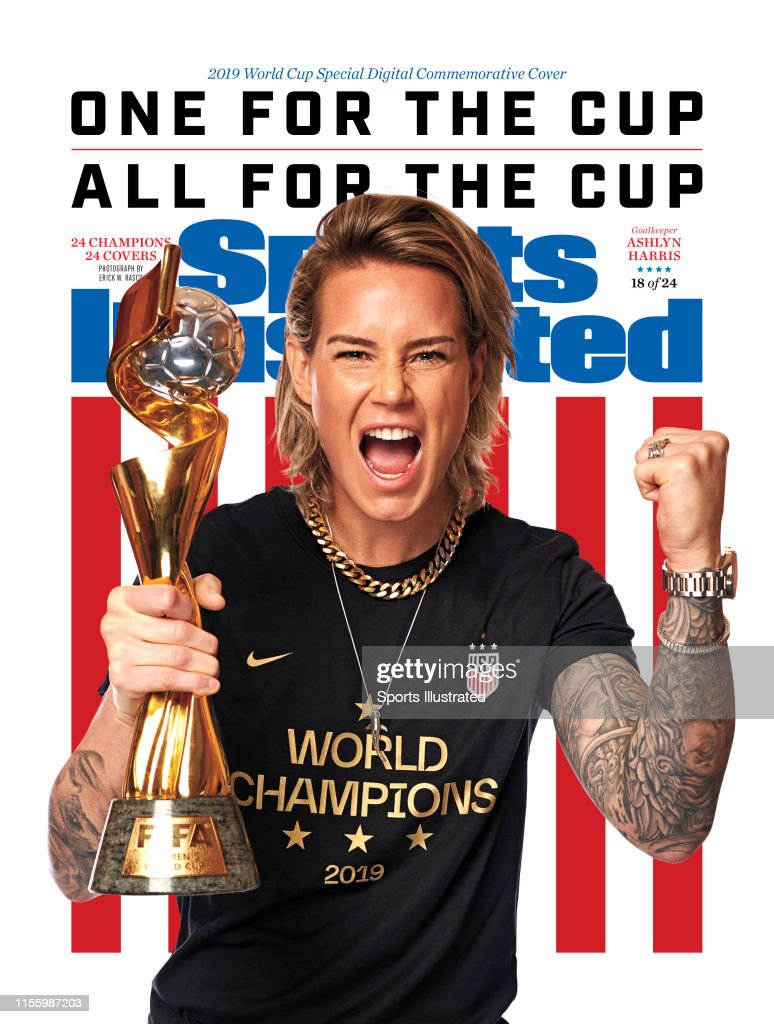 U.S. Women's Soccer Team, Sports Illustrated, July 22, 2019 : News Photo