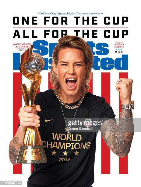 US Women's national soccer player Ashlyn Harris is photographed for Sports Illustrated on July 10 2019 in New York City COVER IMAGE CREDIT MUST READ...