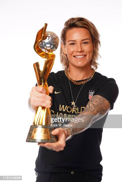 US Women's national soccer player Ashlyn Harris is photographed for Sports Illustrated on July 10 2019 in New York City CREDIT MUST READ Erick W...
