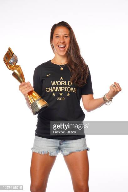 US Women's national soccer player Carli Lloyd is photographed for Sports Illustrated on July 10 2019 in New York City CREDIT MUST READ Erick W...