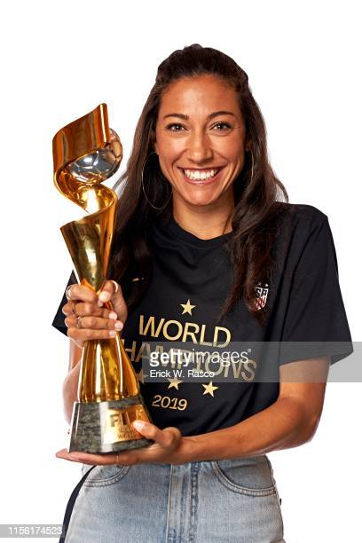 US Women's national soccer player Christen Press is photographed for Sports Illustrated on July 10 2019 in New York City COVER IMAGE CREDIT MUST READ...