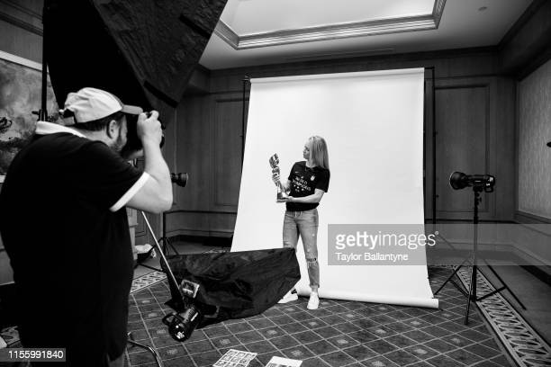 US Women's national soccer player Emily Sonnett is photographed for Sports Illustrated on July 10 2019 in New York City CREDIT MUST READ Taylor...