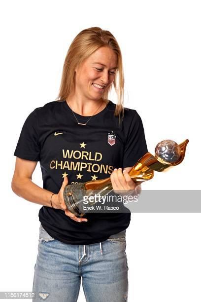 US Women's national soccer player Emily Sonnett is photographed for Sports Illustrated on July 10 2019 in New York City COVER IMAGE CREDIT MUST READ...