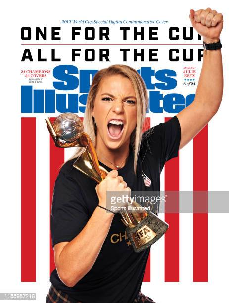 US Women's national soccer player Julie Ertz is photographed for Sports Illustrated on July 10 2019 in New York City COVER IMAGE CREDIT MUST READ...