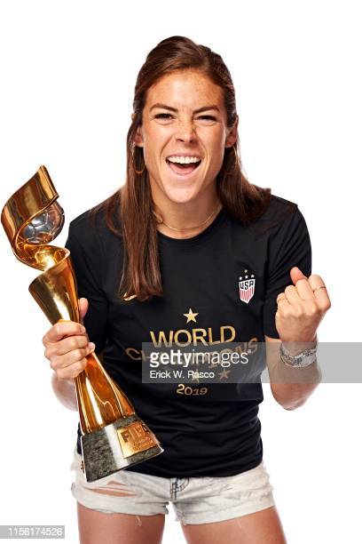 US Women's national soccer player Kelley O'Hara is photographed for Sports Illustrated on July 10 2019 in New York City COVER IMAGE CREDIT MUST READ...