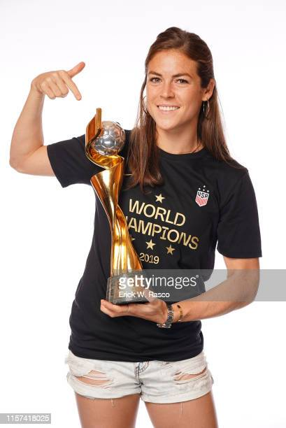 US Women's national soccer player Kelley O'Hara is photographed for Sports Illustrated on July 10 2019 in New York City CREDIT MUST READ Erick W...