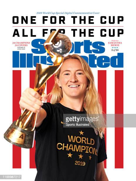 US Women's national soccer player Samantha Mewis is photographed for Sports Illustrated on July 10 2019 in New York City COVER IMAGE CREDIT MUST READ...