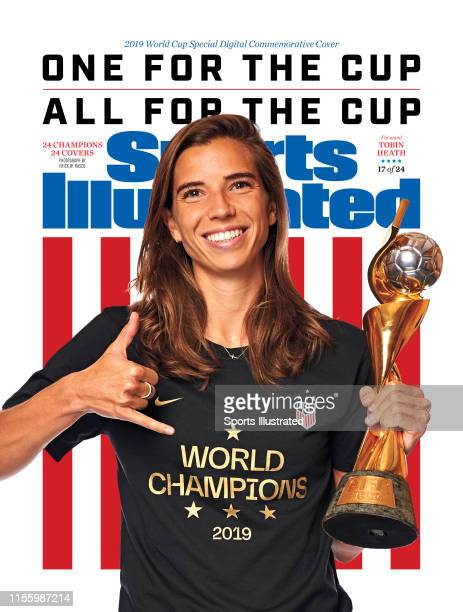 US Women's national soccer player Tobin Heath is photographed for Sports Illustrated on July 10 2019 in New York City COVER IMAGE CREDIT MUST READ...