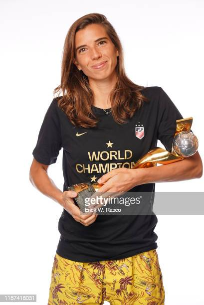 US Women's national soccer player Tobin Heath is photographed for Sports Illustrated on July 10 2019 in New York City CREDIT MUST READ Erick W...