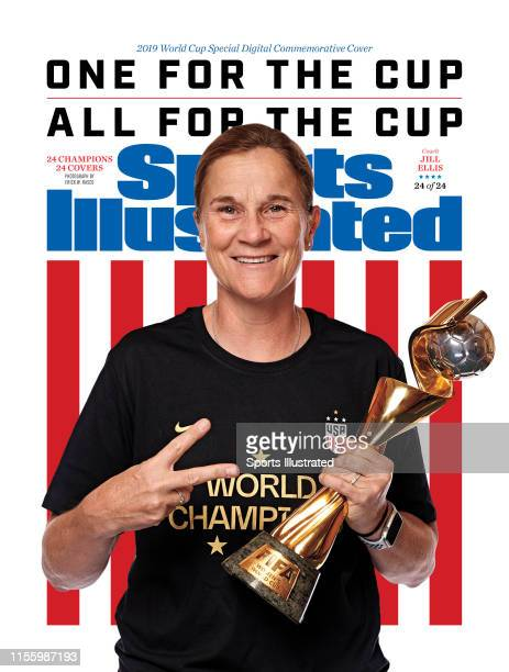 Women's national soccer team coach, Jill Ellis is photographed for Sports Illustrated on July 10, 2019 in New York City. COVER IMAGE. CREDIT MUST...