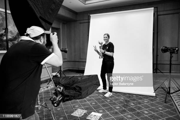 Women's national soccer team coach, Jill Ellis is photographed for Sports Illustrated on July 10, 2019 in New York City. CREDIT MUST READ: Taylor...