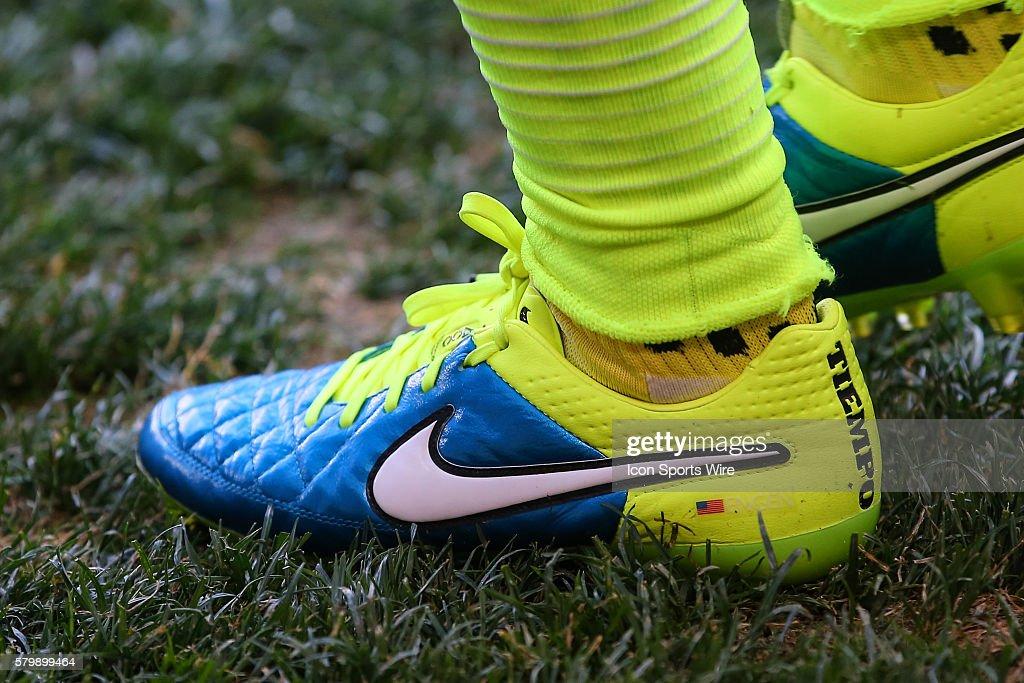 3112e9f1af1 US Womens National Team defender Whitney Engen Nike Cleats during ...