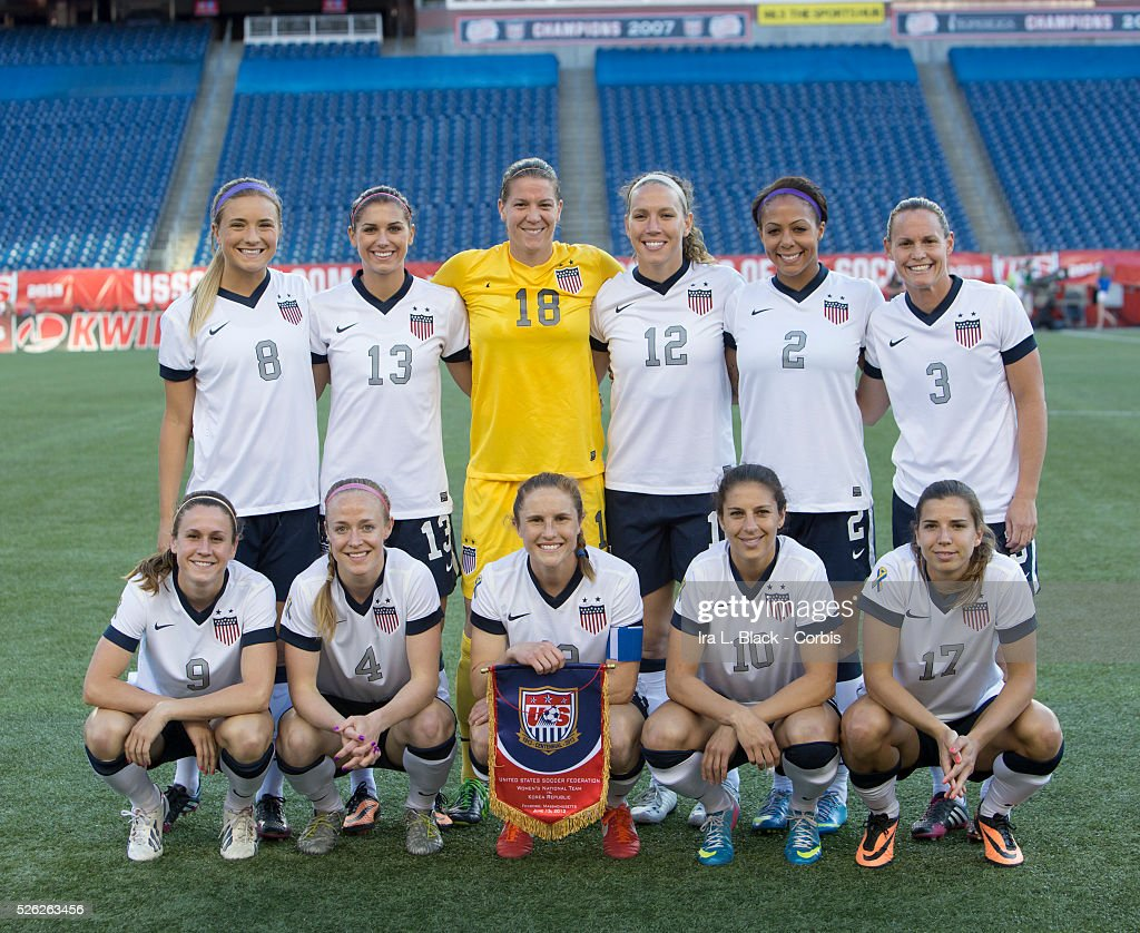Women's Soccer Friendly - US vs. Korea Republic : Foto jornalística