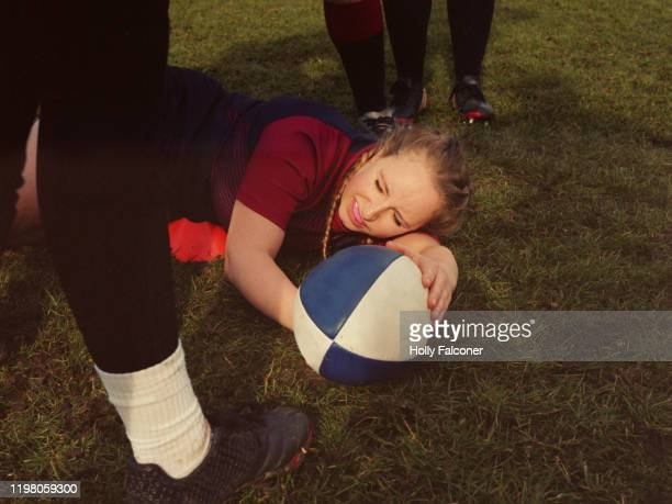 women's rugby - team sport stock pictures, royalty-free photos & images