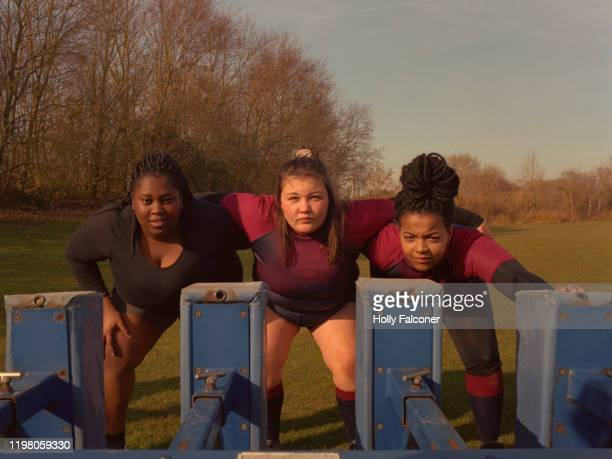 women's rugby - sports training stock pictures, royalty-free photos & images