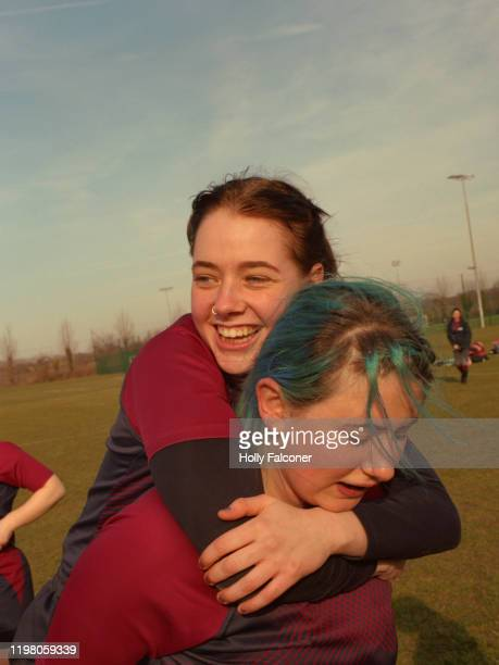 women's rugby - rugby stock pictures, royalty-free photos & images
