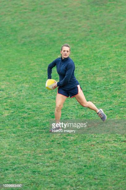 Women's Rugby Training