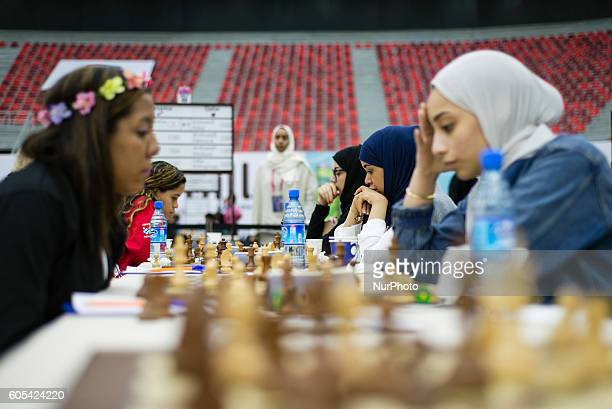 Womens section at the 42nd Chess Olympiad in Baku Azerbaijan on Tuesday September 13 2016