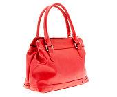 Women's Small Red Handbag Purse