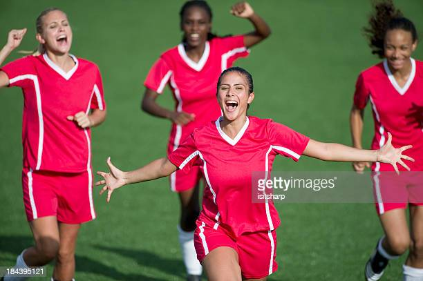 womens soccer - women's football stock pictures, royalty-free photos & images
