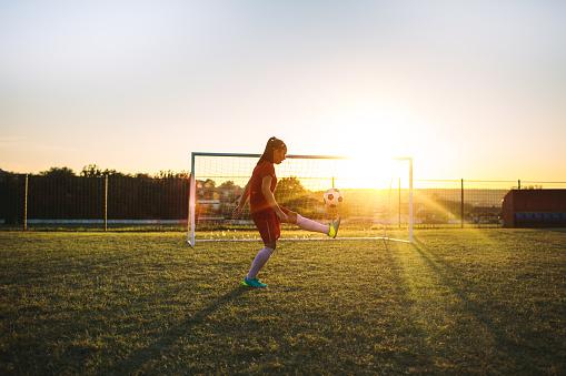 Women's Soccer Player 1049704540