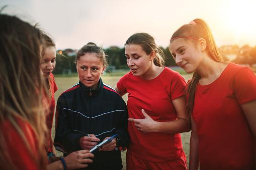 Women's Soccer Team 1049705380