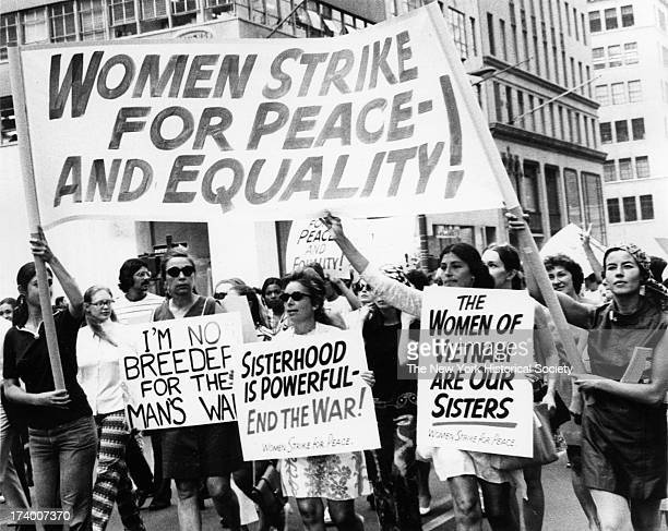 Women's Strike for PeaceAnd Equality Women's Strike for Equality Fifth Avenue New York New York August 26 1970