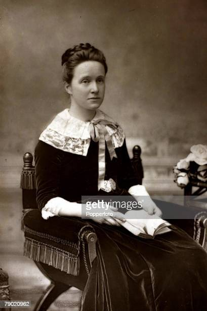 Womens Suffrage Millicent Garrett Fawcett portrait She was a leader in the British women's Suffrage movement and also a novelist She married British...