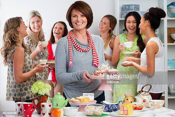 womens tea party - tea party stock pictures, royalty-free photos & images