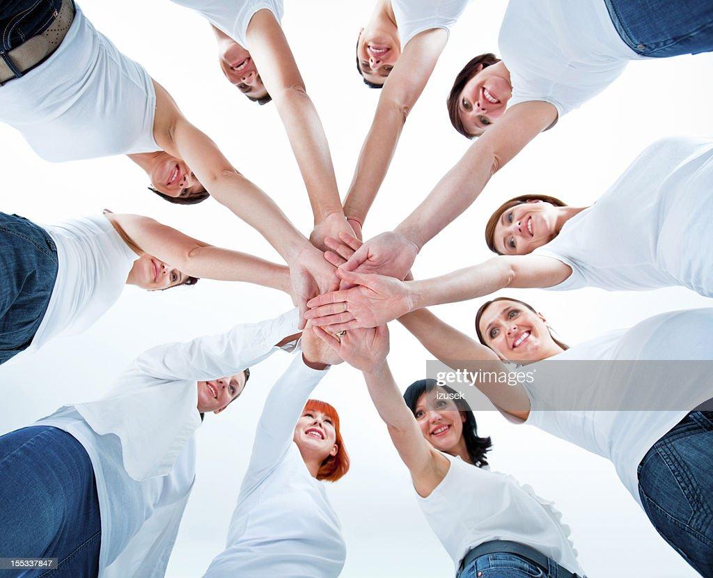Women's team : Stock Photo